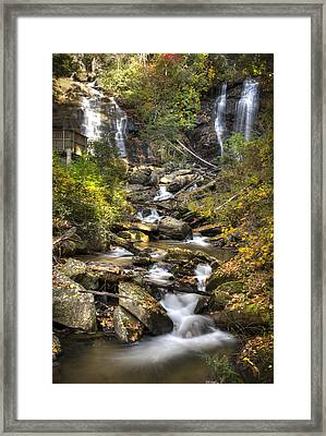 Ana Ruby Falls In Autumn Framed Print by Penny Lisowski