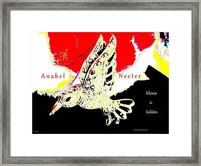 Anabel Necter Framed Print by Artscana Images