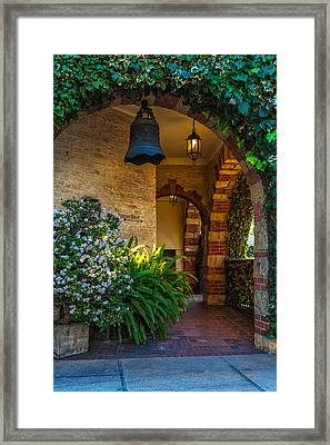 Anacapa Archway Framed Print