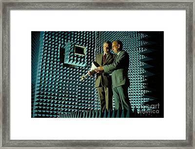 Anachroic Chamber Framed Print by Jerry McElroy