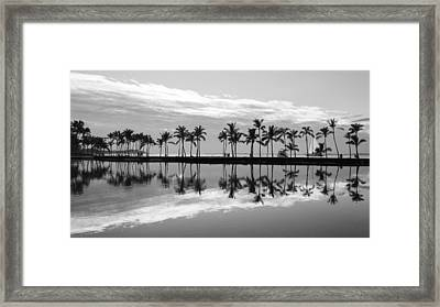 Framed Print featuring the photograph Anaehoomalu Bay by Scott Rackers