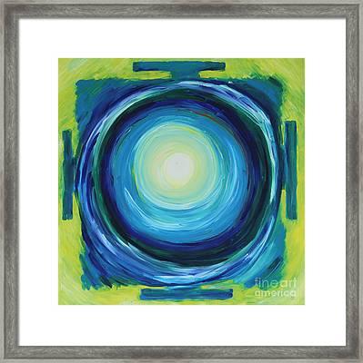 Anahata Yantra Framed Print