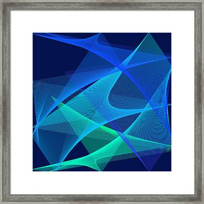 Framed Print featuring the digital art Analgesic by Karo Evans
