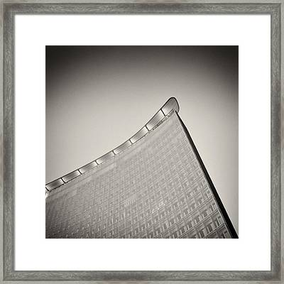Analog Photography - Berlin Architecture Framed Print