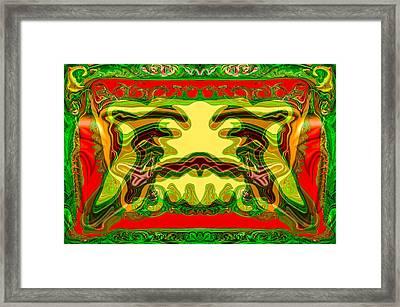 Analog Television Framed Print by Omaste Witkowski