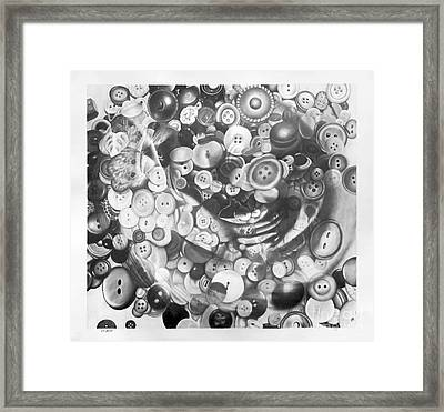 Anamorphic Memory In The Silhouette Of Reminiscence II Framed Print by Sarah Sutherland