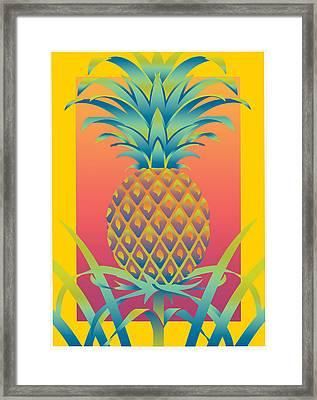 Ananas Framed Print