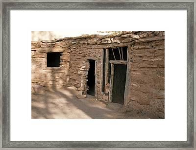 Anasazi House Framed Print by Jim West