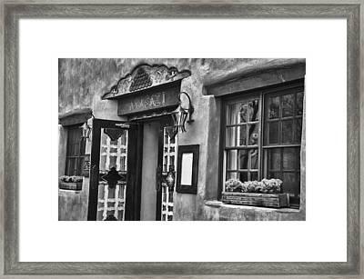 Framed Print featuring the photograph Anasazi Inn Restaurant by Ron White