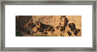 Anasazi Ruins, Mesa Verde National Framed Print by Panoramic Images