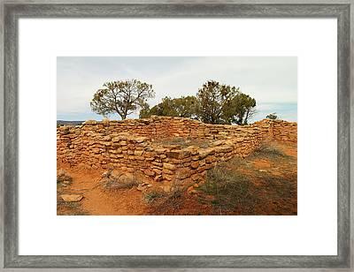 Anasazi Ruins Southern Utah Framed Print by Jeff Swan