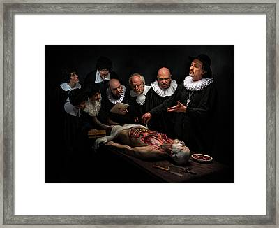 Anatomy Lesson II Framed Print