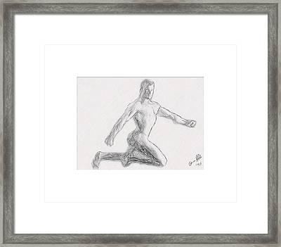 Anatomy Men  Framed Print by Joaquin Abella