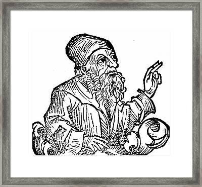 Anaxagoras Framed Print by Universal History Archive/uig