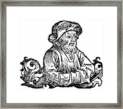 Anaximenes Framed Print by Universal History Archive/uig