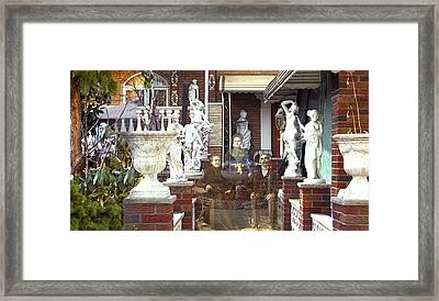 Ancestral Home Framed Print by Roslyn Rose