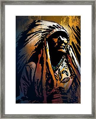 Ancestral Light Framed Print