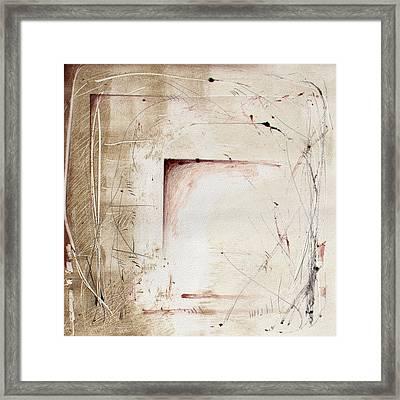 Ancestral Vision 1 Framed Print by Jeannette Debonne