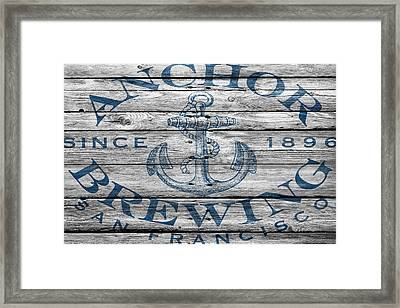 Anchor Brewing Framed Print