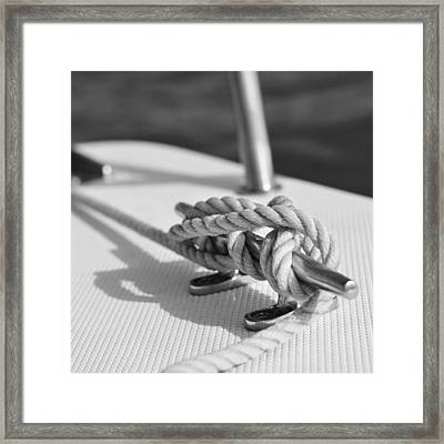 Anchor Line Framed Print