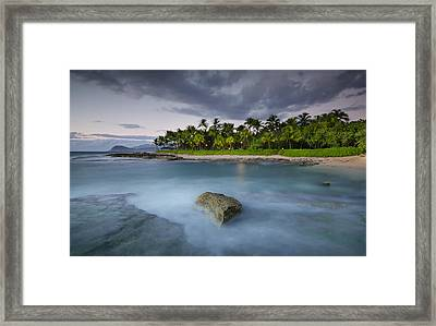 Anchor Of The Sea At Koolina Framed Print