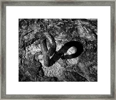 Anchor Point Framed Print by James Barber