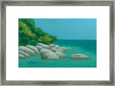 Anchorage 2 Framed Print by Diane Cutter