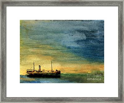 Anchorage Framed Print by R Kyllo