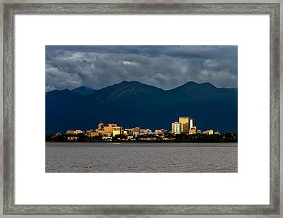Anchorage Framed Print by Rick Berk