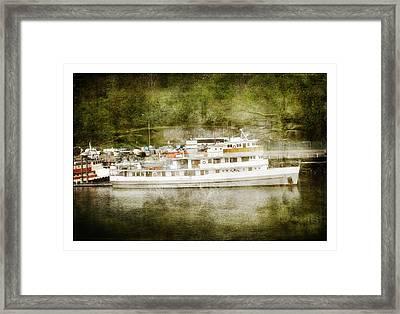 Anchors  Away Framed Print by Davina Washington