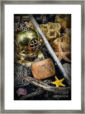 Anchors Aweigh Framed Print by Paul Ward