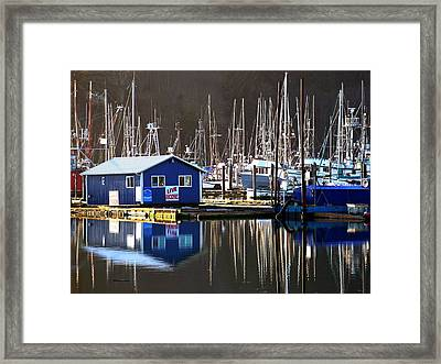 Anchovies For Sale Framed Print