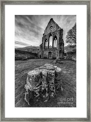 Ancient Abbey Framed Print by Adrian Evans