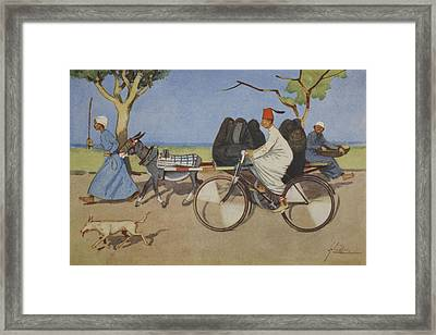 Ancient And Modern, From The Light Side Framed Print by Lance Thackeray