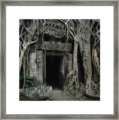 Ancient Angkor Framed Print by Shaun Higson