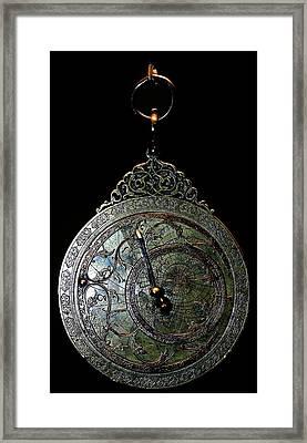 Ancient Astrolabe Framed Print by Babak Tafreshi