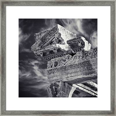 Framed Print featuring the photograph Ancient by Brad Brizek