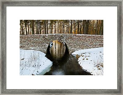 Ancient Bridge Framed Print by Kennerth and Birgitta Kullman