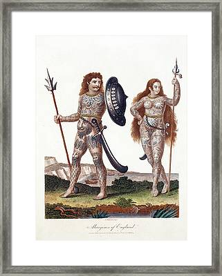 Ancient Britons Framed Print