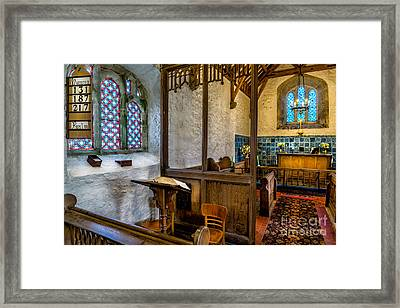 Ancient Chapel 2 Framed Print by Adrian Evans