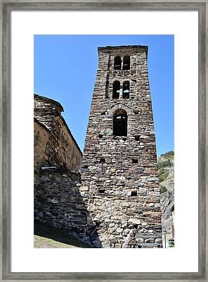 Ancient Church Framed Print by Arnau Ramos Oviedo