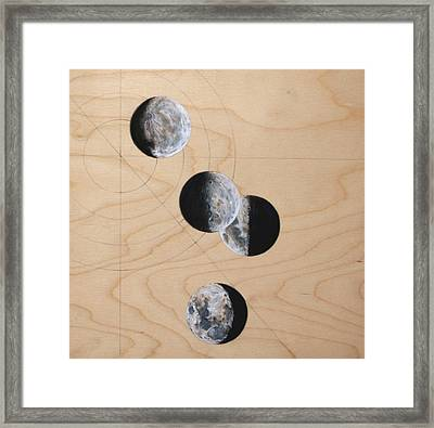 Ancient Circles Framed Print by Stacey Sherman