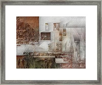 Ancient City 1 Framed Print