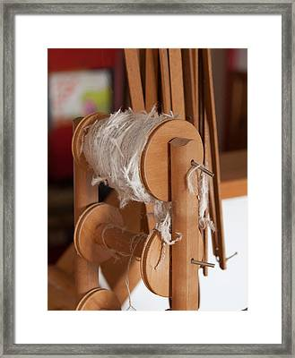 Ancient Craft For Cotton Framed Print by Salvatore Meli