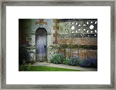 Ancient Door Framed Print by Lesley Rigg