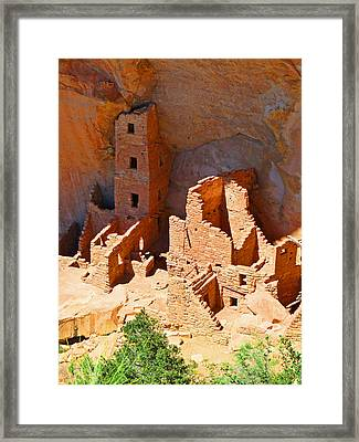Ancient Dwelling Framed Print