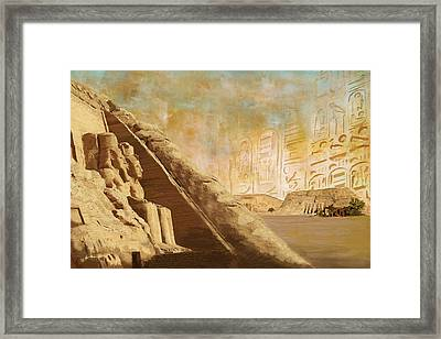 Ancient Egypt Civilization 05 Framed Print by Catf