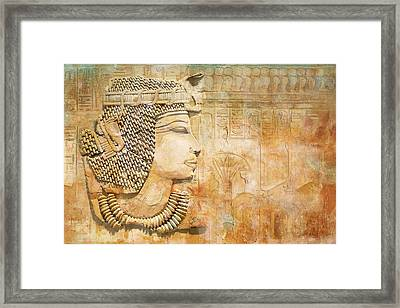Ancient Egypt Civilization 07 Framed Print by Catf