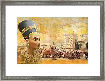 Ancient Egypt Civilization 09 Framed Print by Catf