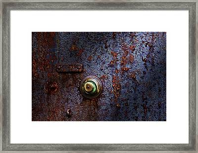 Ancient Entry Framed Print by Tom Mc Nemar